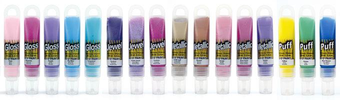 Jones Tones 3D Paint - Metallic, Gloss, Puff, Jewel
