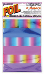 Jones Tones Foil Rainbow Set