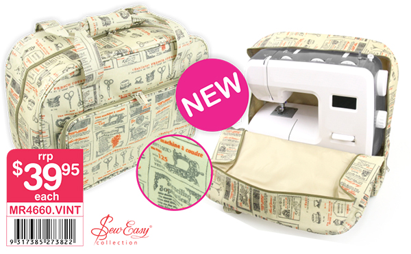 Sew Easy Sewing Machine Tote - MR4660
