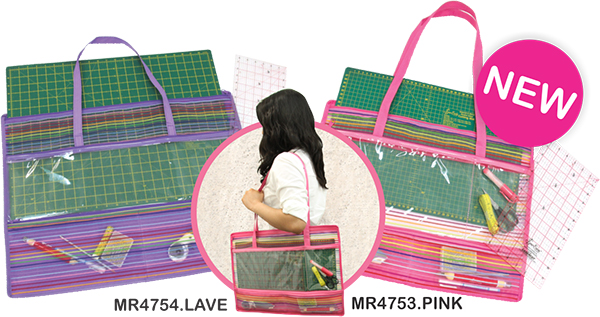 Cutting Mat Bag: MR4754.LAVE & MR4753.PINK