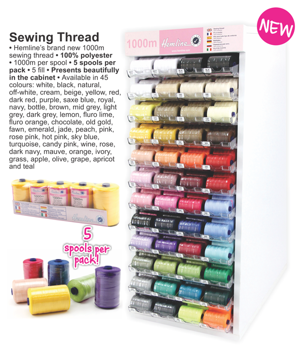 Hemline Sewing Thread - Contact us for pricing